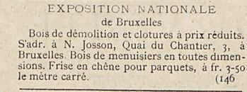 EXPOSITION NATIONALE