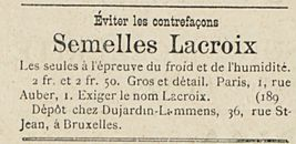 Semelles Lacroix