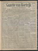 Gazette Van Kortrijk 1908-11-05