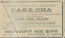 CAKE OMA