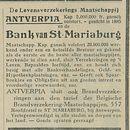Bank van St Mariaburg