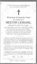 Nestor Lemaire