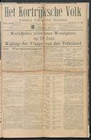 Het Kortrijksche Volk 1914-05-31 p1