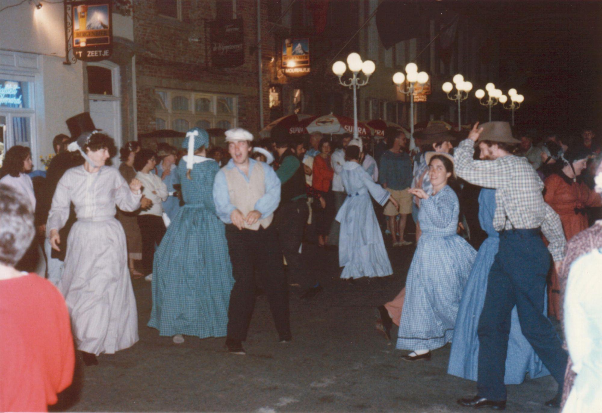 Sfeer Kapucijnestraat 1985