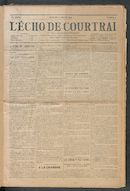 L'echo De Courtrai 1914-01-04