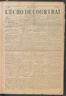 L'echo De Courtrai 1914-01-08