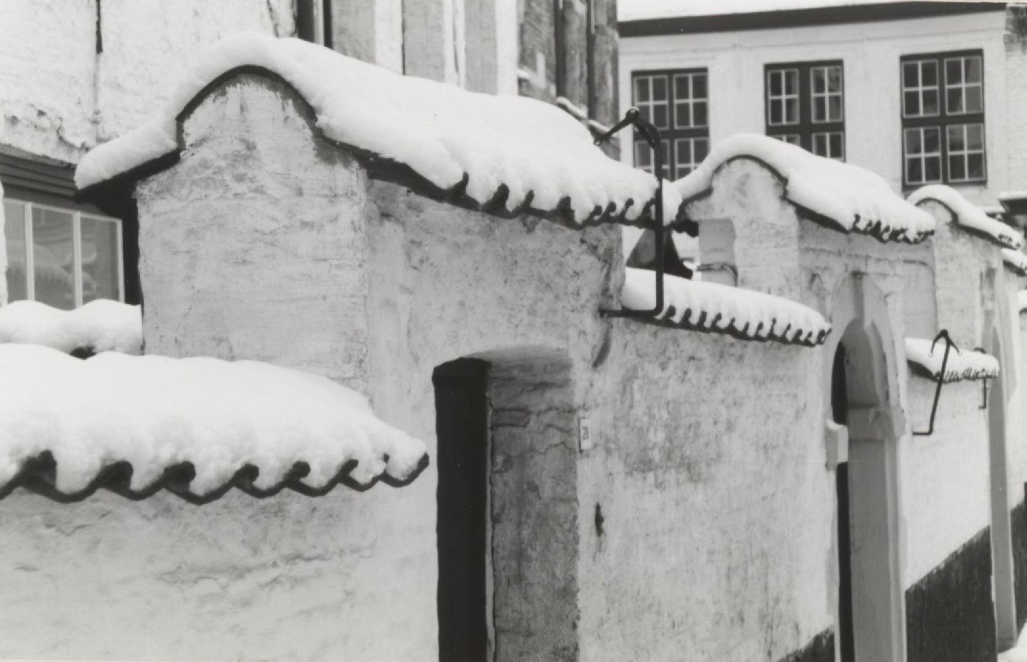 Begijnhof in de sneeuw