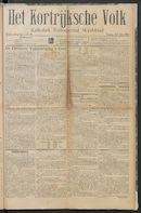 Het Kortrijksche Volk 1914-07-12