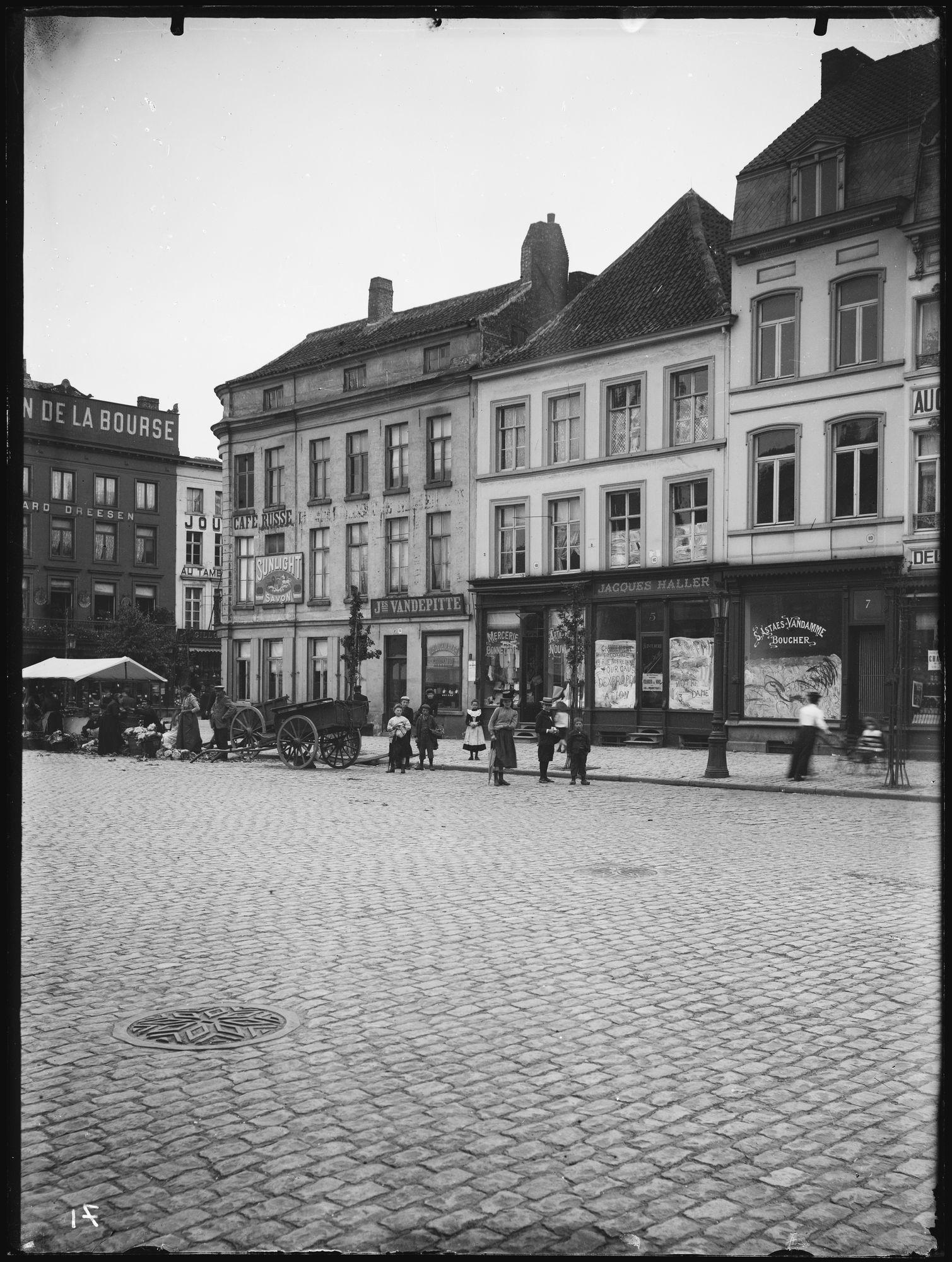 Graanmarkt voor 1906