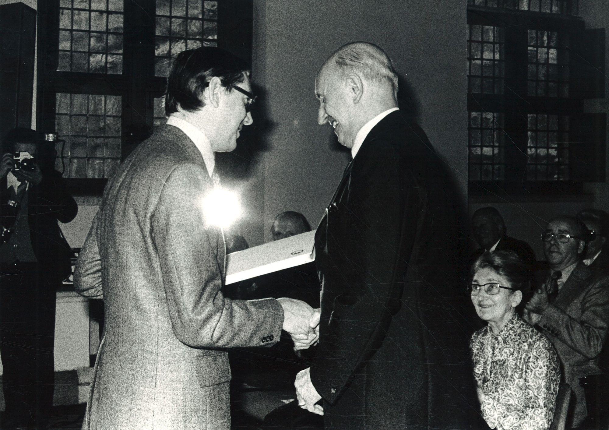Uitreiking André Demedtsprijs aan Jozef Coene