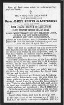 Joseph Kervyn de Lettenhove