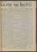 Gazette Van Kortrijk 1917-08-04