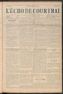 L'echo De Courtrai 1911-07-30