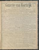 Gazette Van Kortrijk 1912-10-27