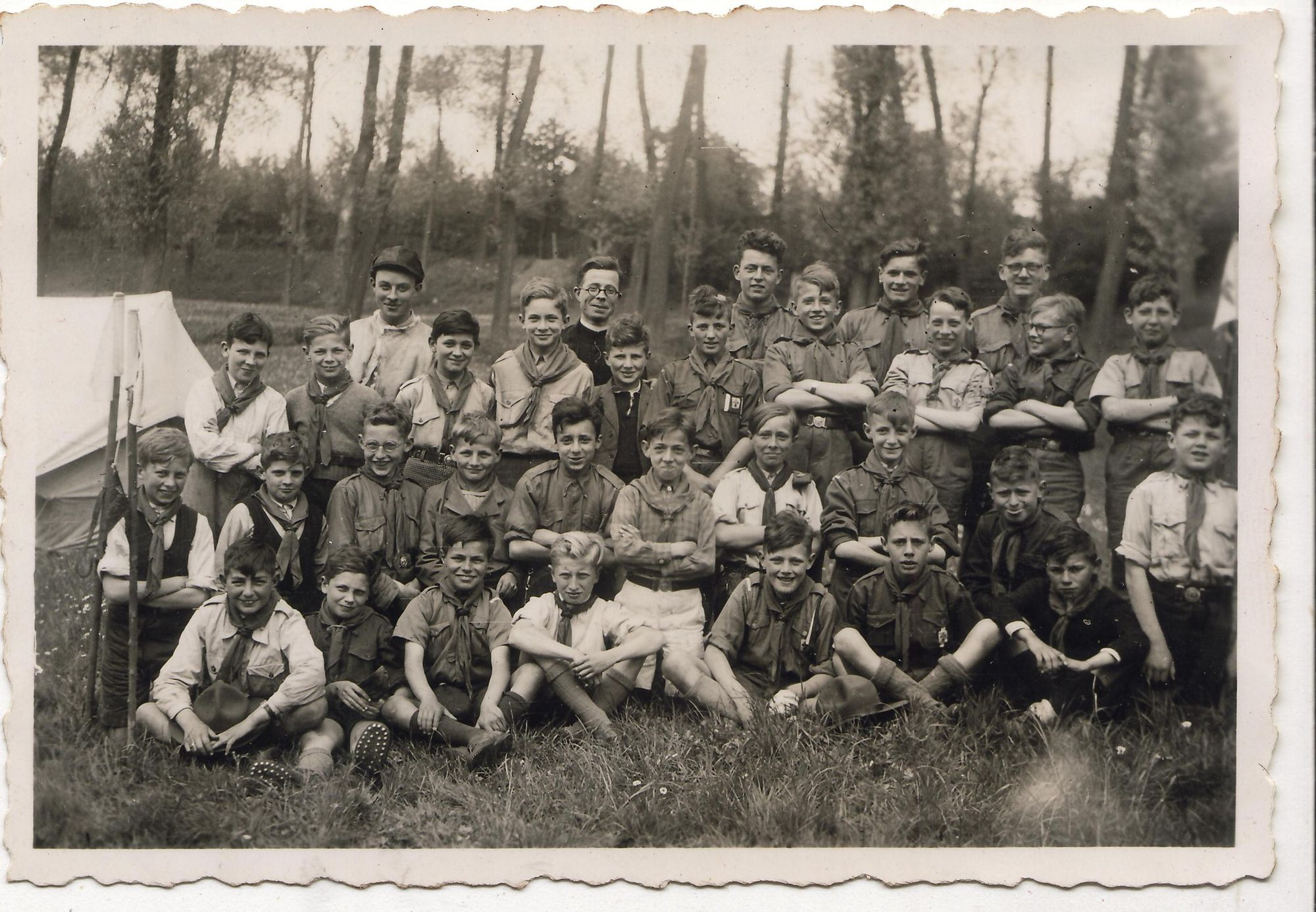 Scouts Saeftinghe 1946