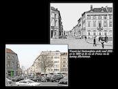 Koning Albertstraat ca 1895 en  2010