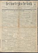 Het Kortrijksche Volk 1931-09-13