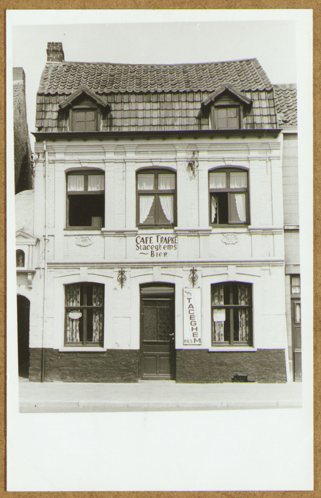 Café Trapke op het Sint-Amandsplein