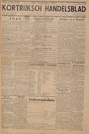 Kortrijksch Handelsblad 3 januari 1945 Nr1