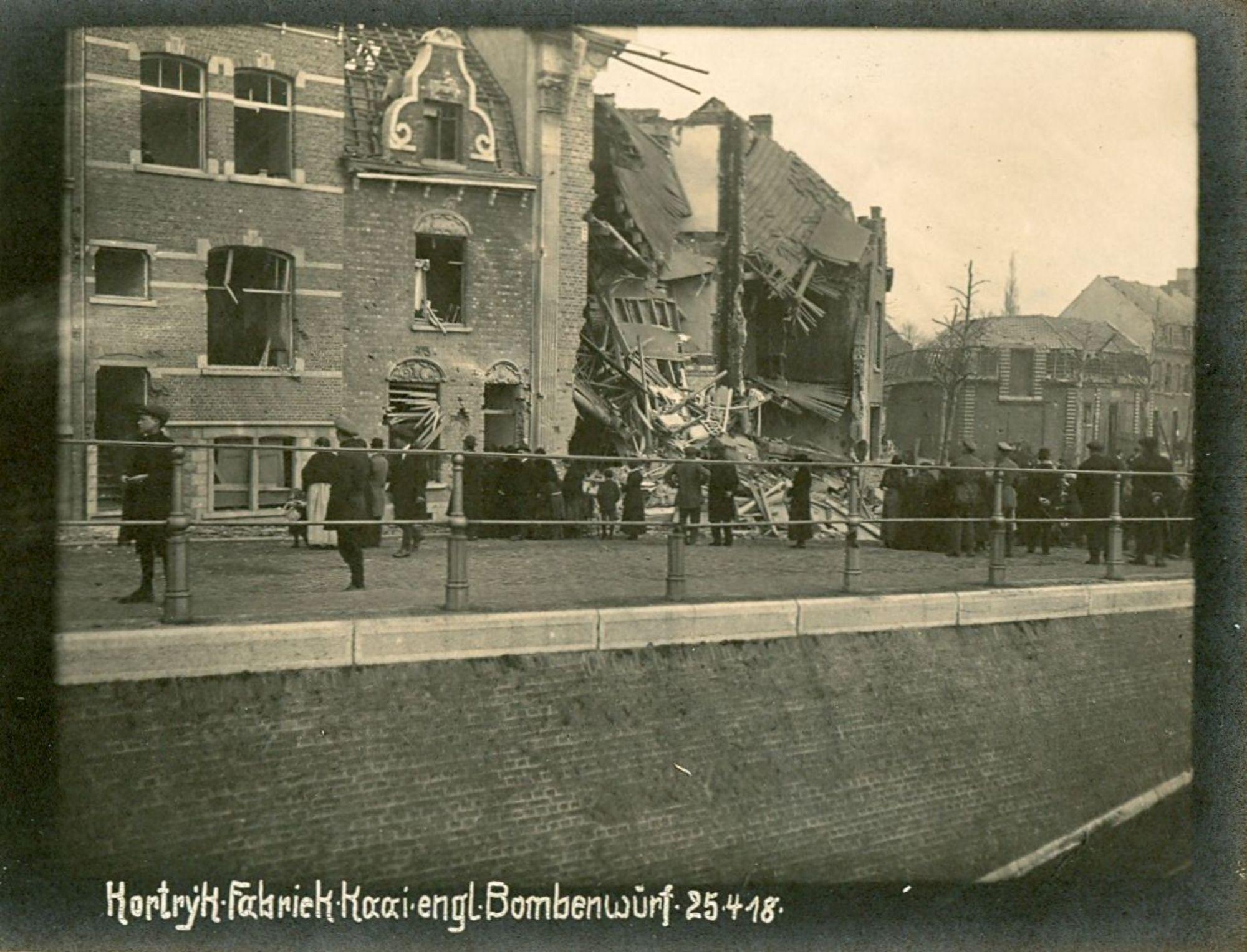 Fabriekskaai in 1918