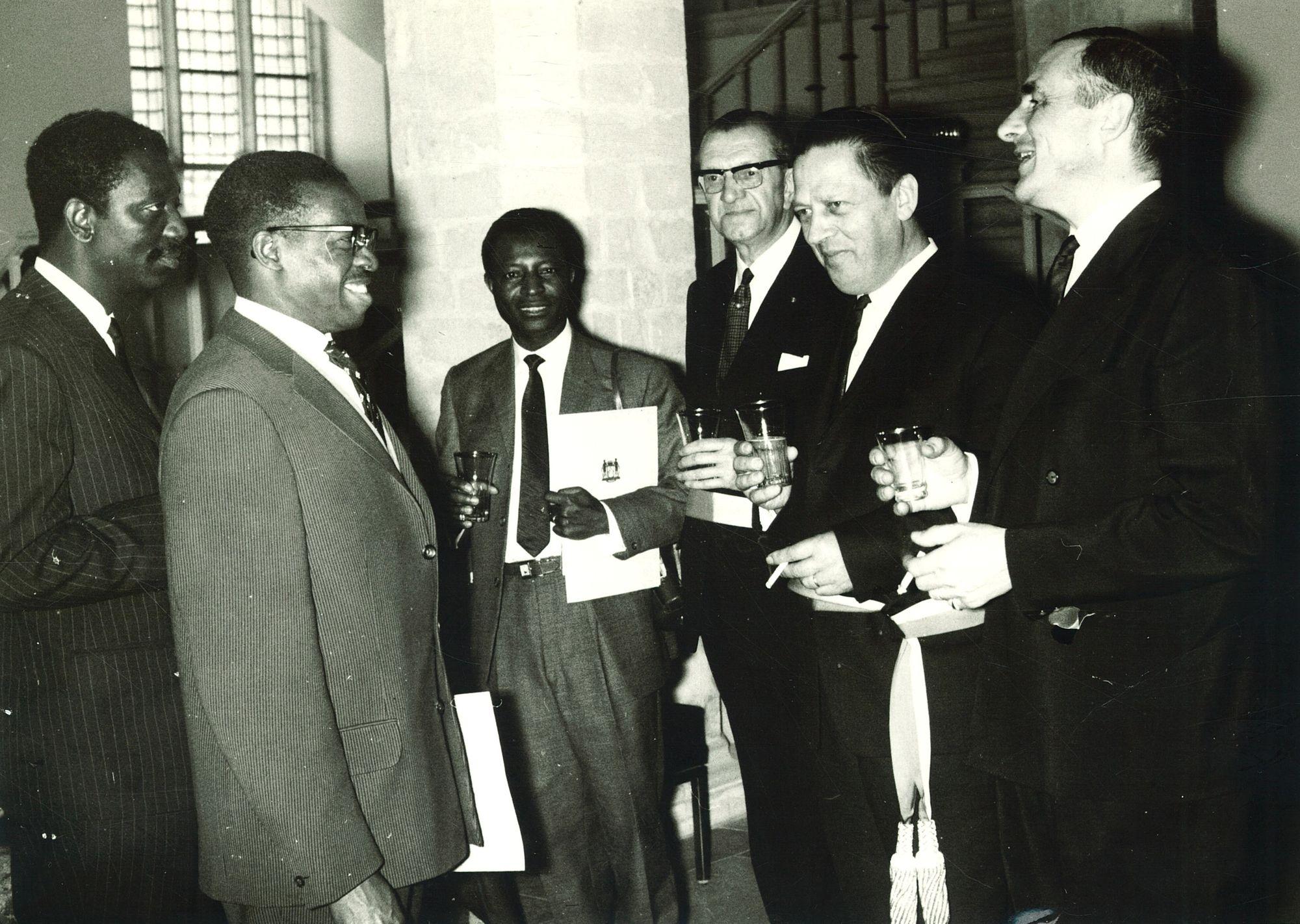 Ontvangst Congolese ambassadeur