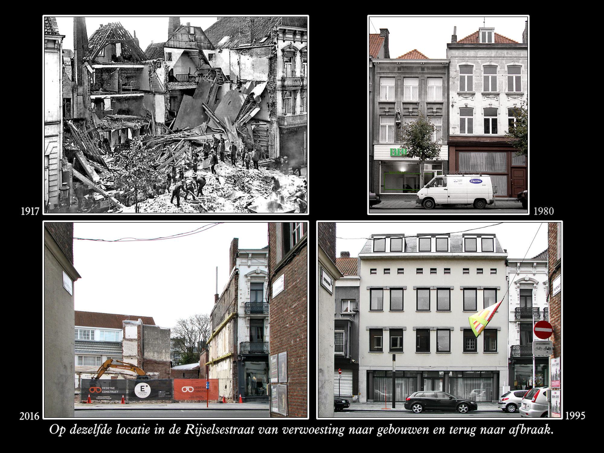 Rijselsestraat 1917-2016