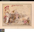 Westflandrica - Kortrijk, bedankings- en erebewijs