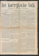 Het Kortrijksche Volk 1907-04-14