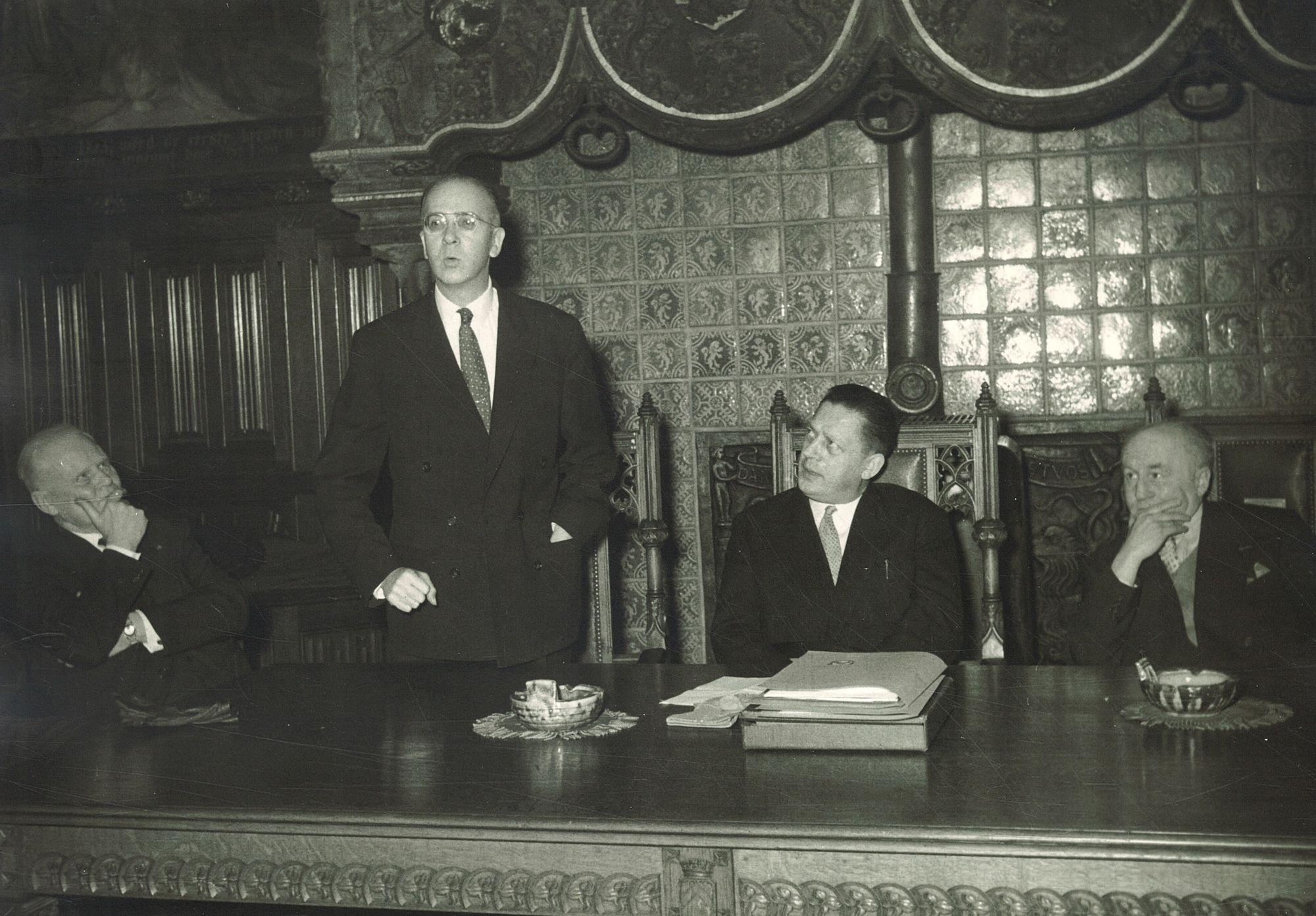 Ontvangst consul-generaal Wilson