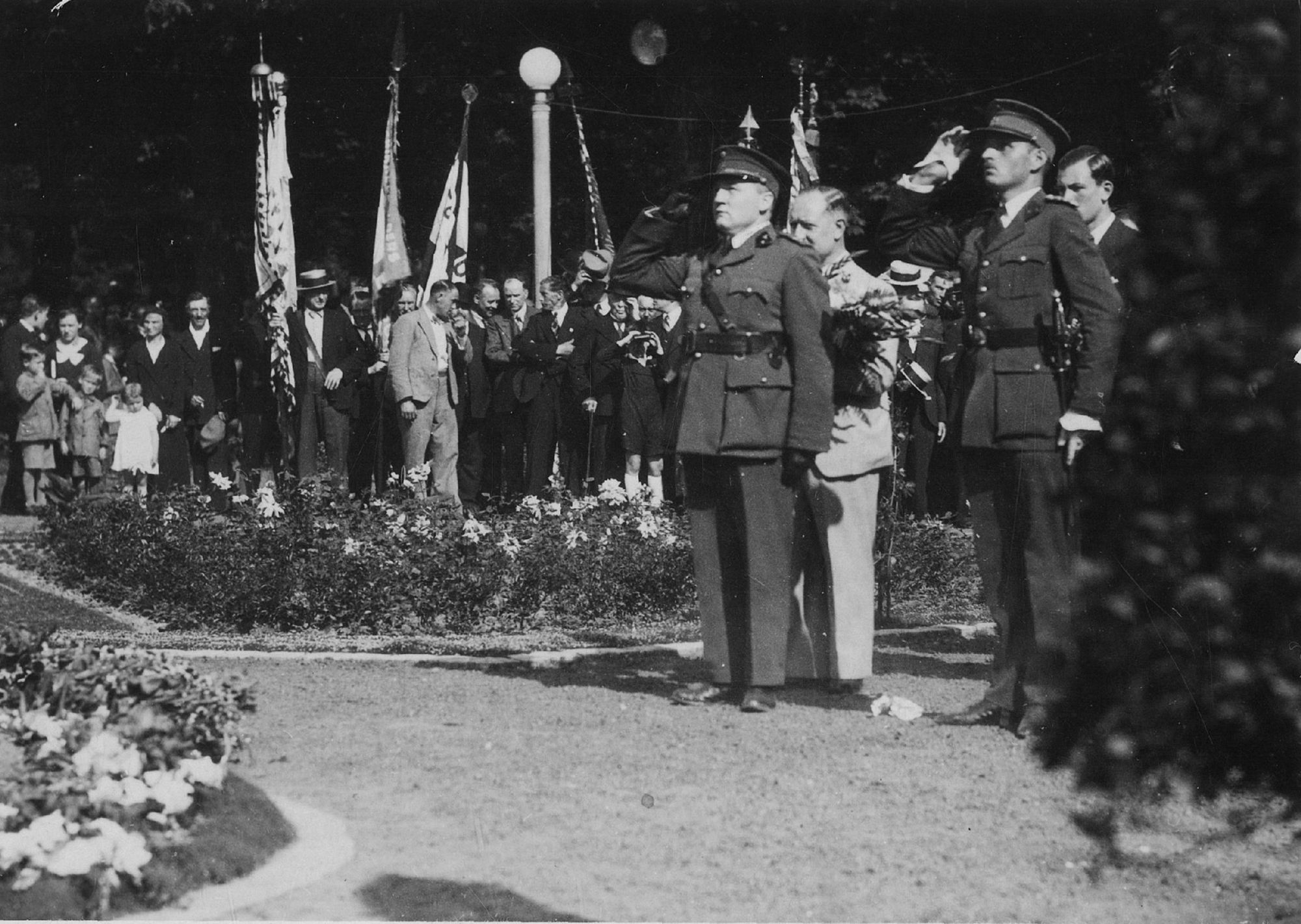 Inwijding koningin Astrid monument