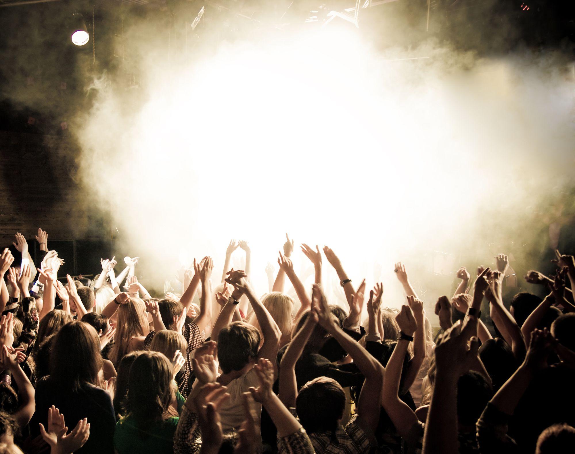 Publiek concert