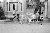 kinderen Albertpark 25  Mei 1947