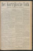 Het Kortrijksche Volk 1911-11-19