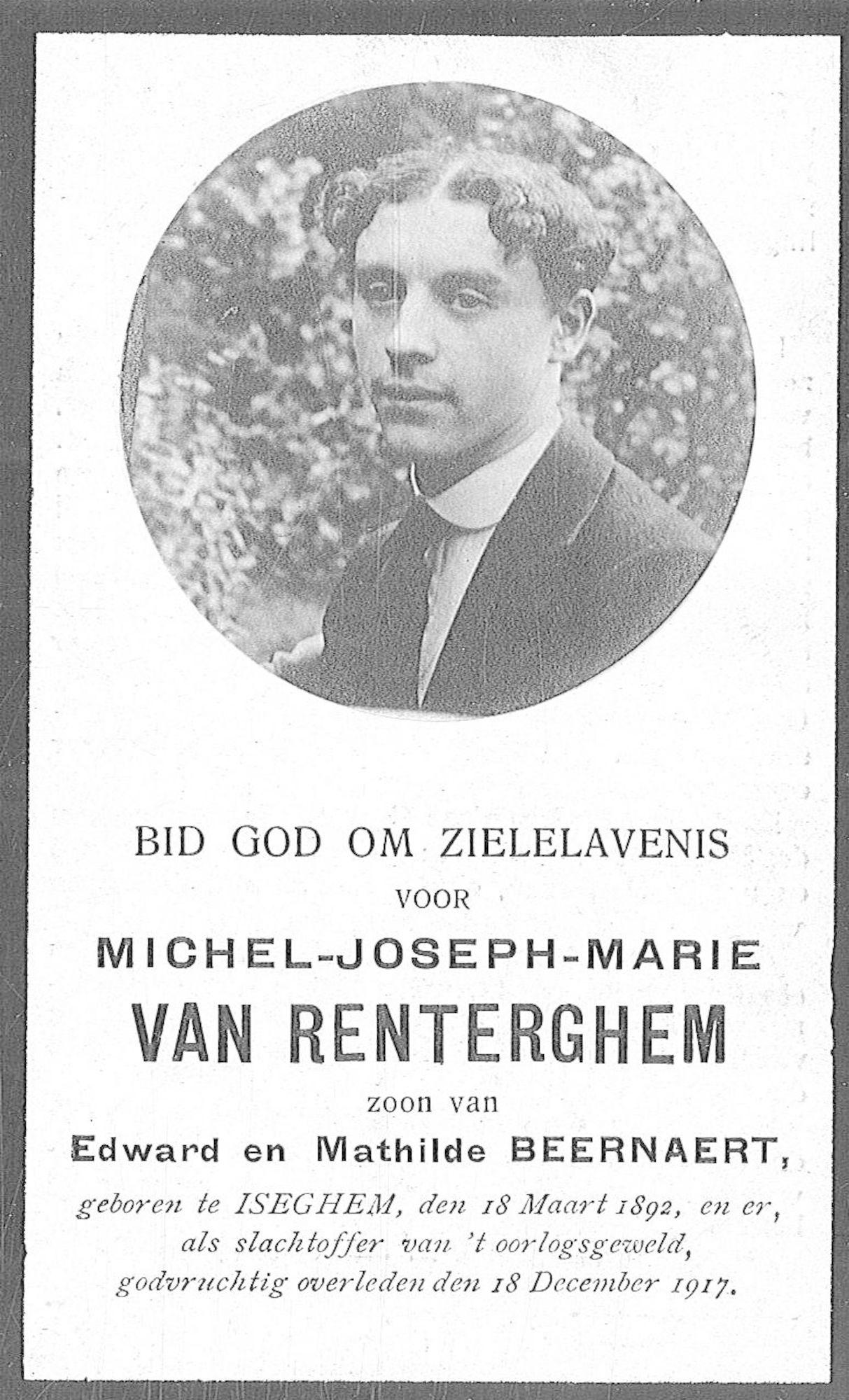 Michel-Joseph-Marie Van Renterghem