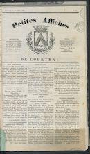 Petites Affiches De Courtrai 1835-11-13