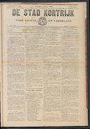 De Stad Kortrijk 1905-10-07