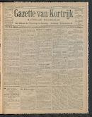 Gazette Van Kortrijk 1910-12-01