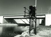 Nieuw sluizencomplex van het kanaal Bossuit-Kortrijk in Bossuit 1979