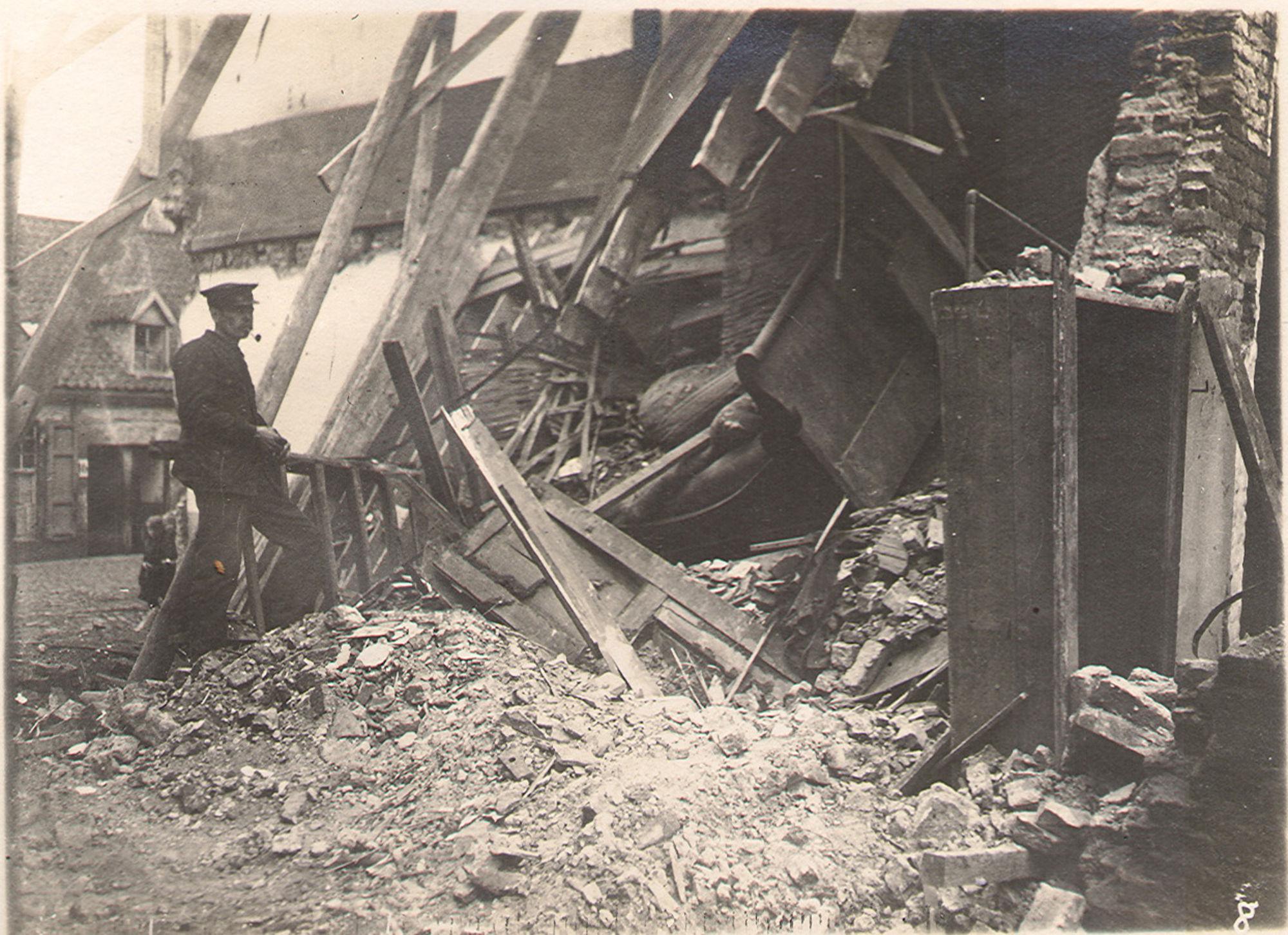 Magdalenastraat in1918