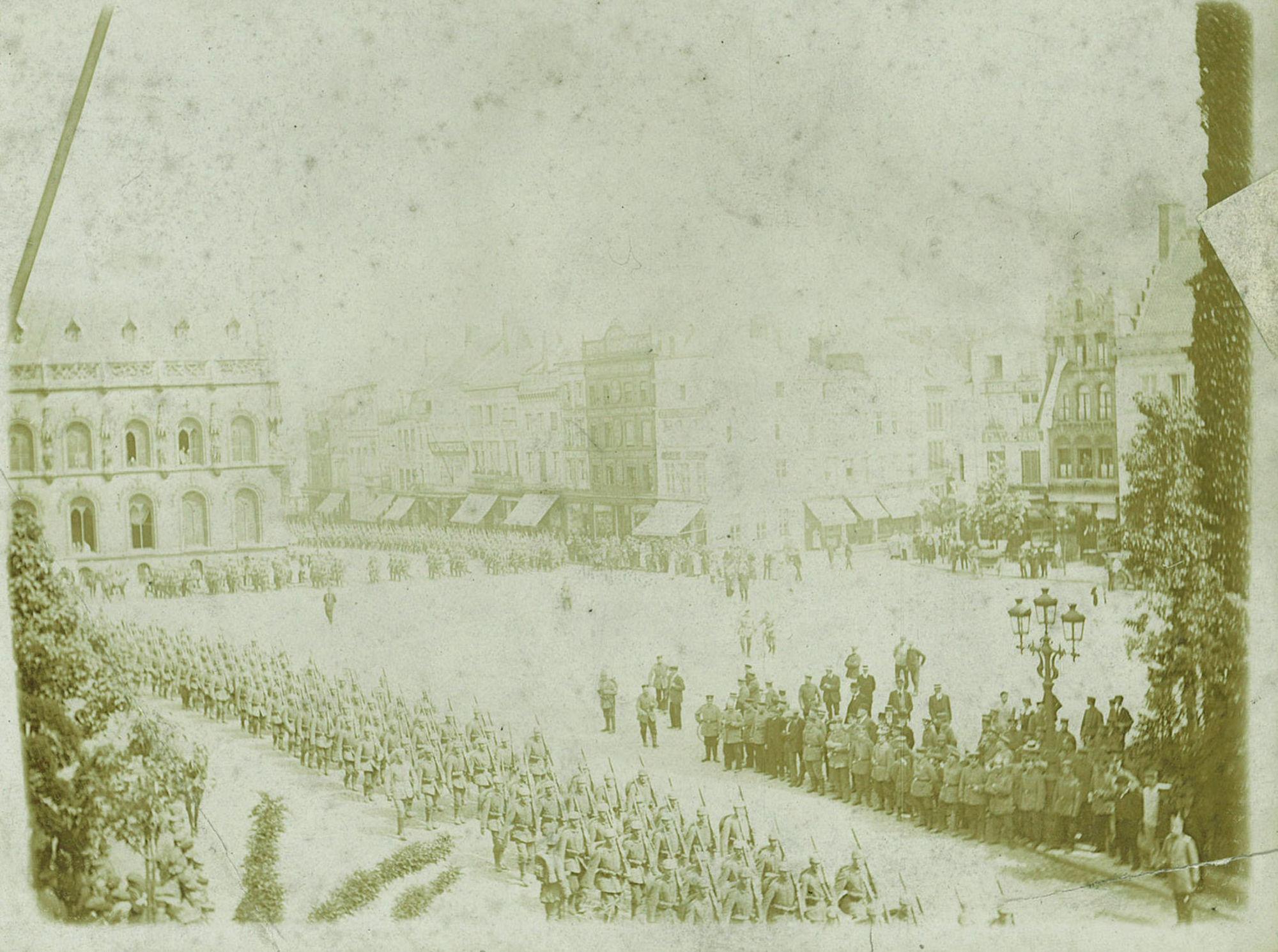 Duitse troepen in 1915
