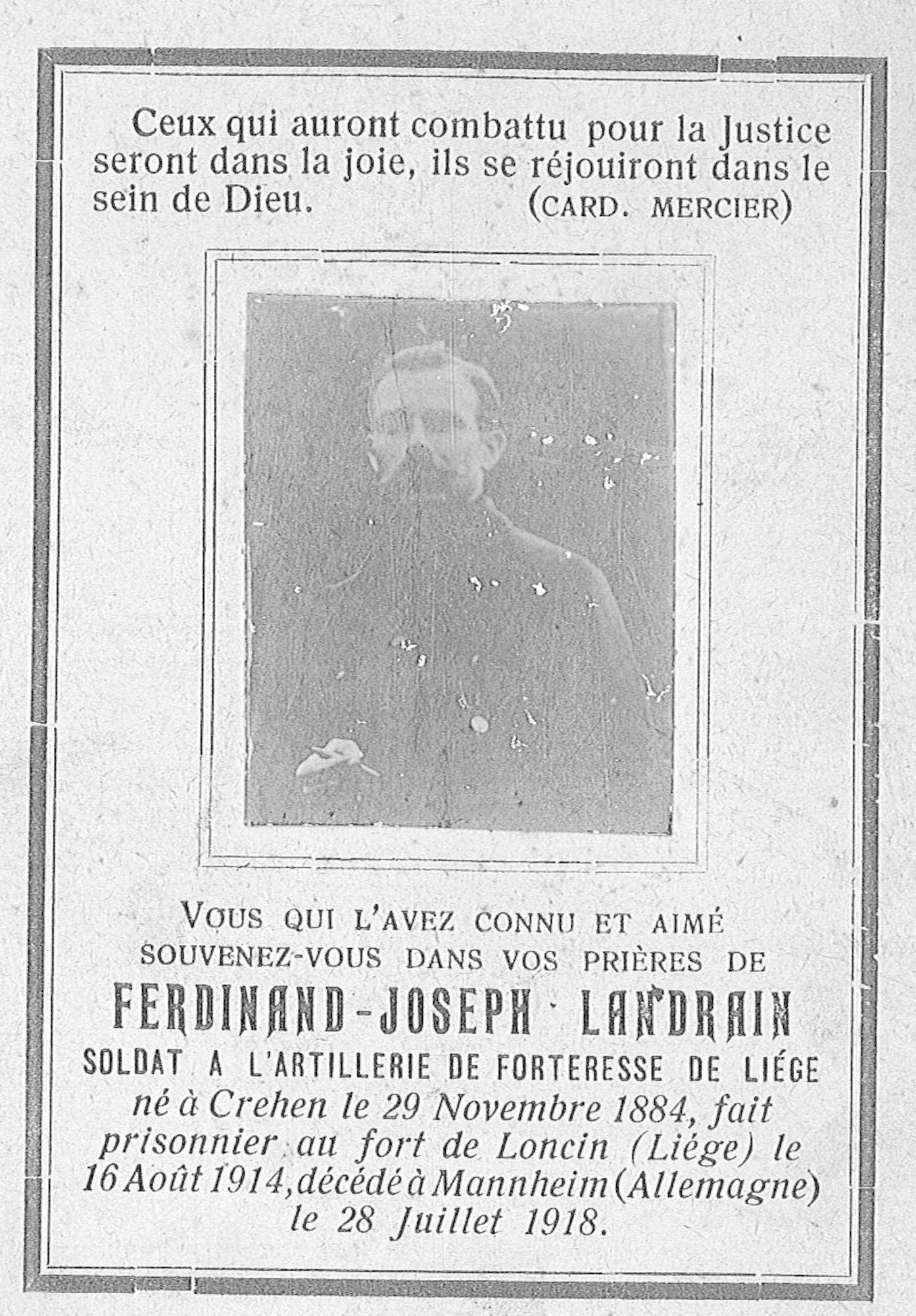 Ferdinand-Joseph Landrain