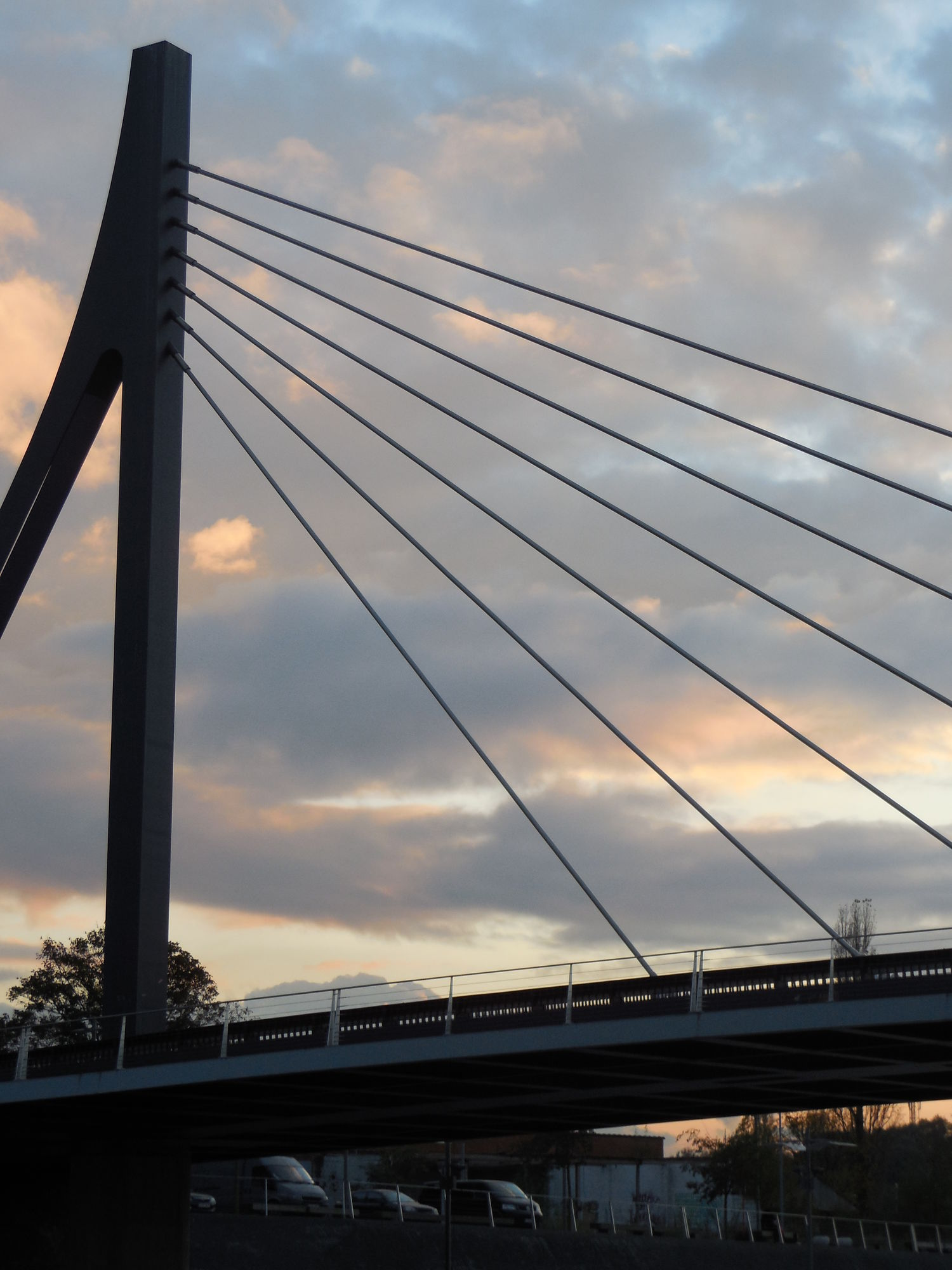 De Leie aan de Noordbrug