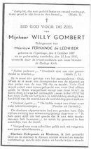 Willy Gombert