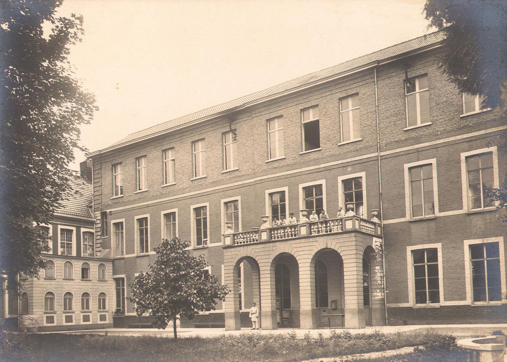 Sint-Niklaashospitaal tijdens Wereldoorlog I