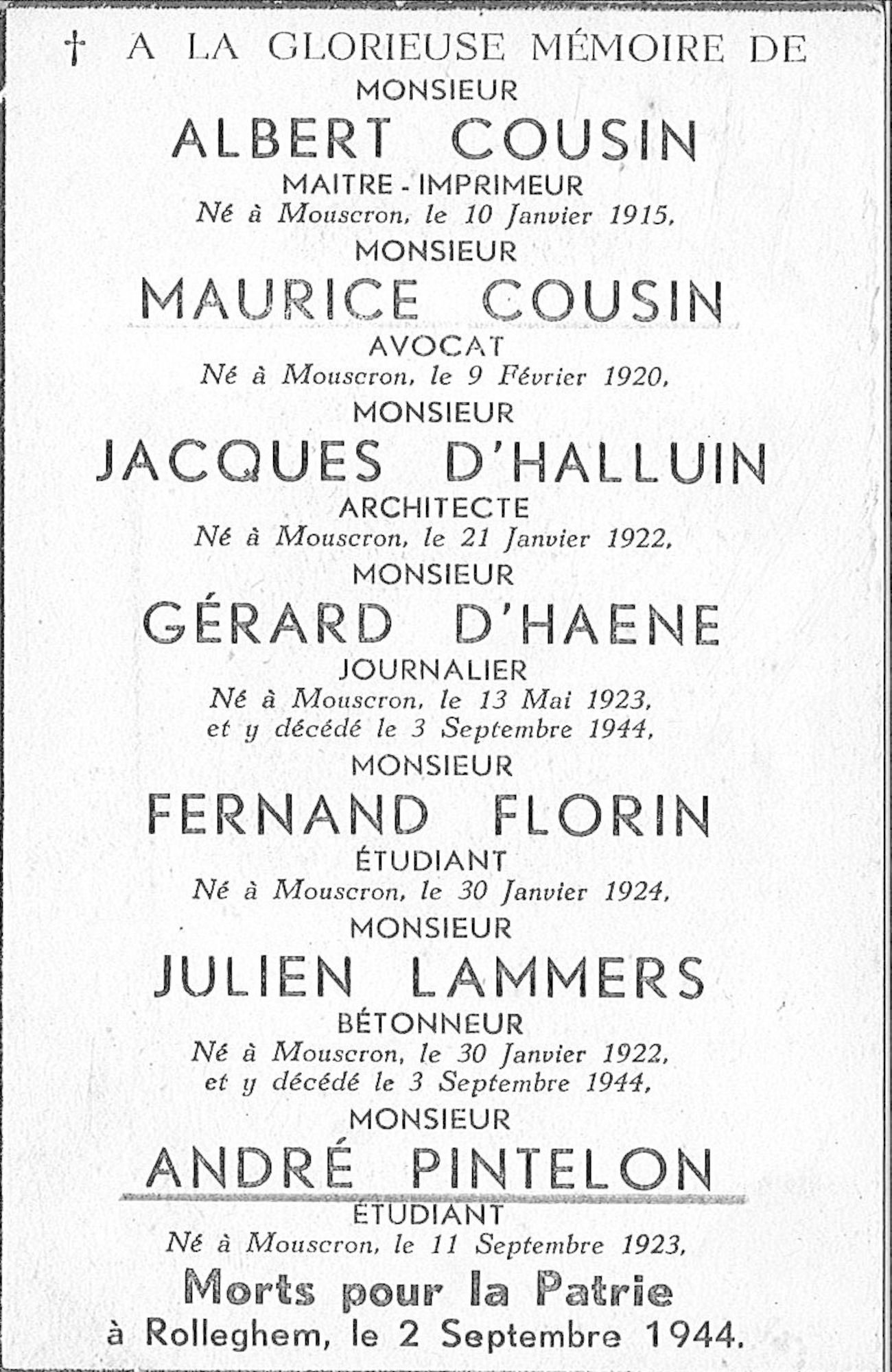 Maurice Cousin