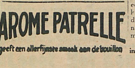 AROME PATRELLE