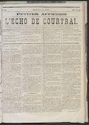 L'echo De Courtrai 1873-08-14