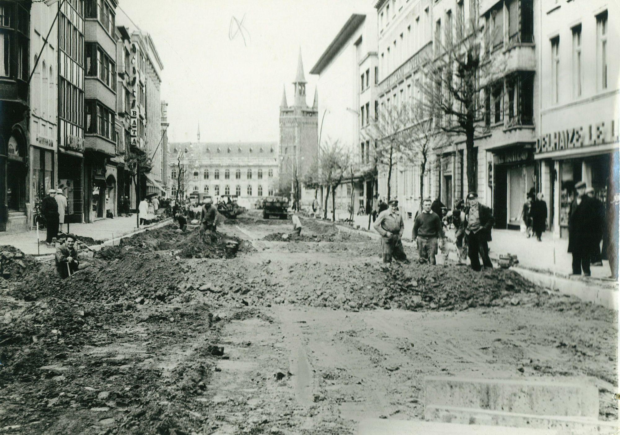 Doorniksestraat 1961