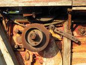 Landbouwmachine (detail)