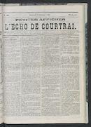 L'echo De Courtrai 1868-10-16 p1
